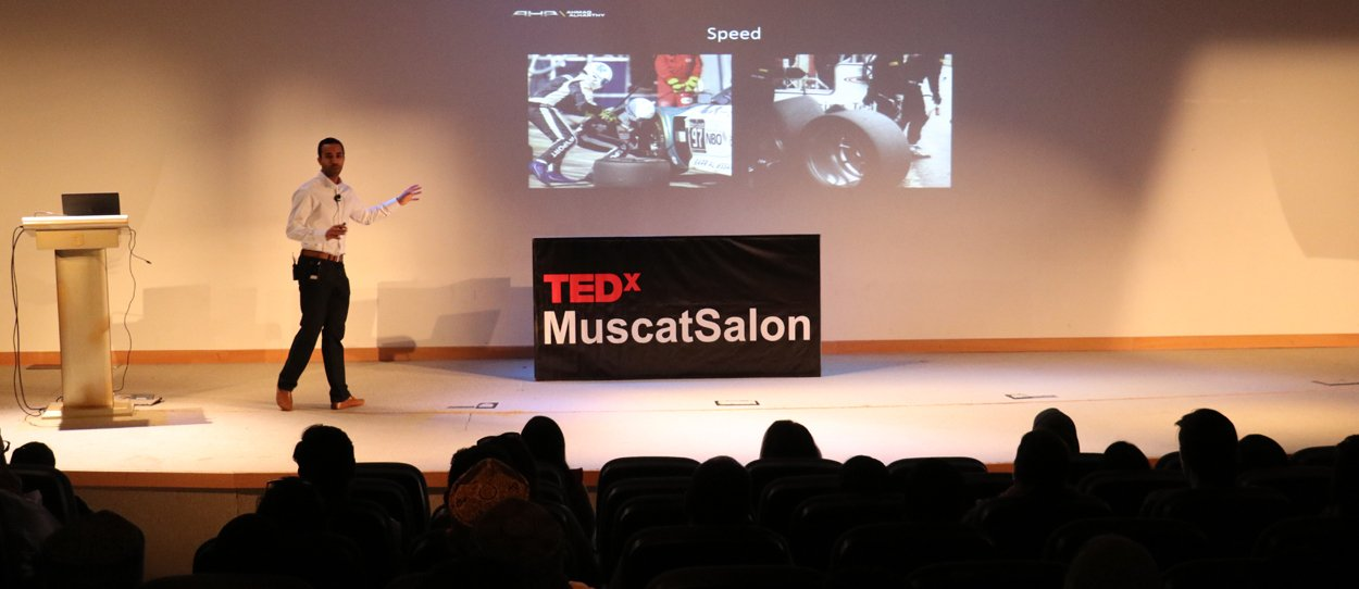 TEDXMUSCAT SALON TAKES PLACE AT AL MAZAAR ENTERTAINMENT CENTER