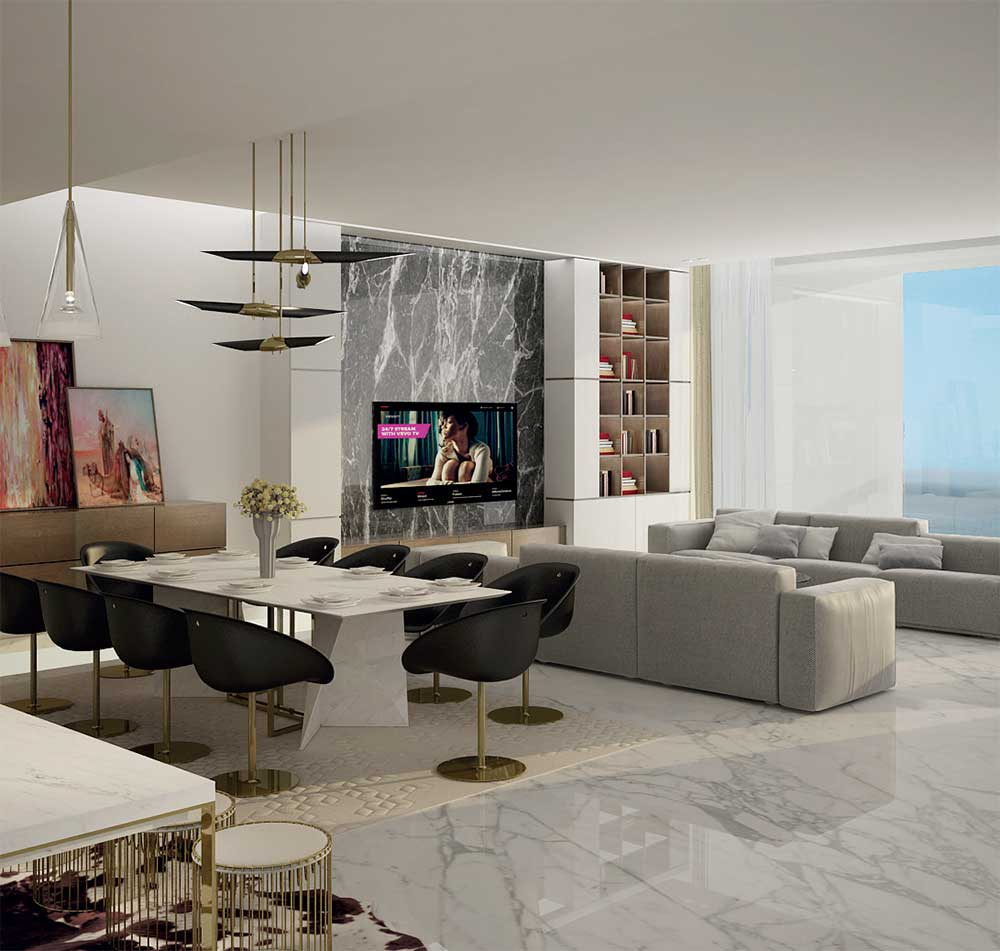 Waterfront Penthouses