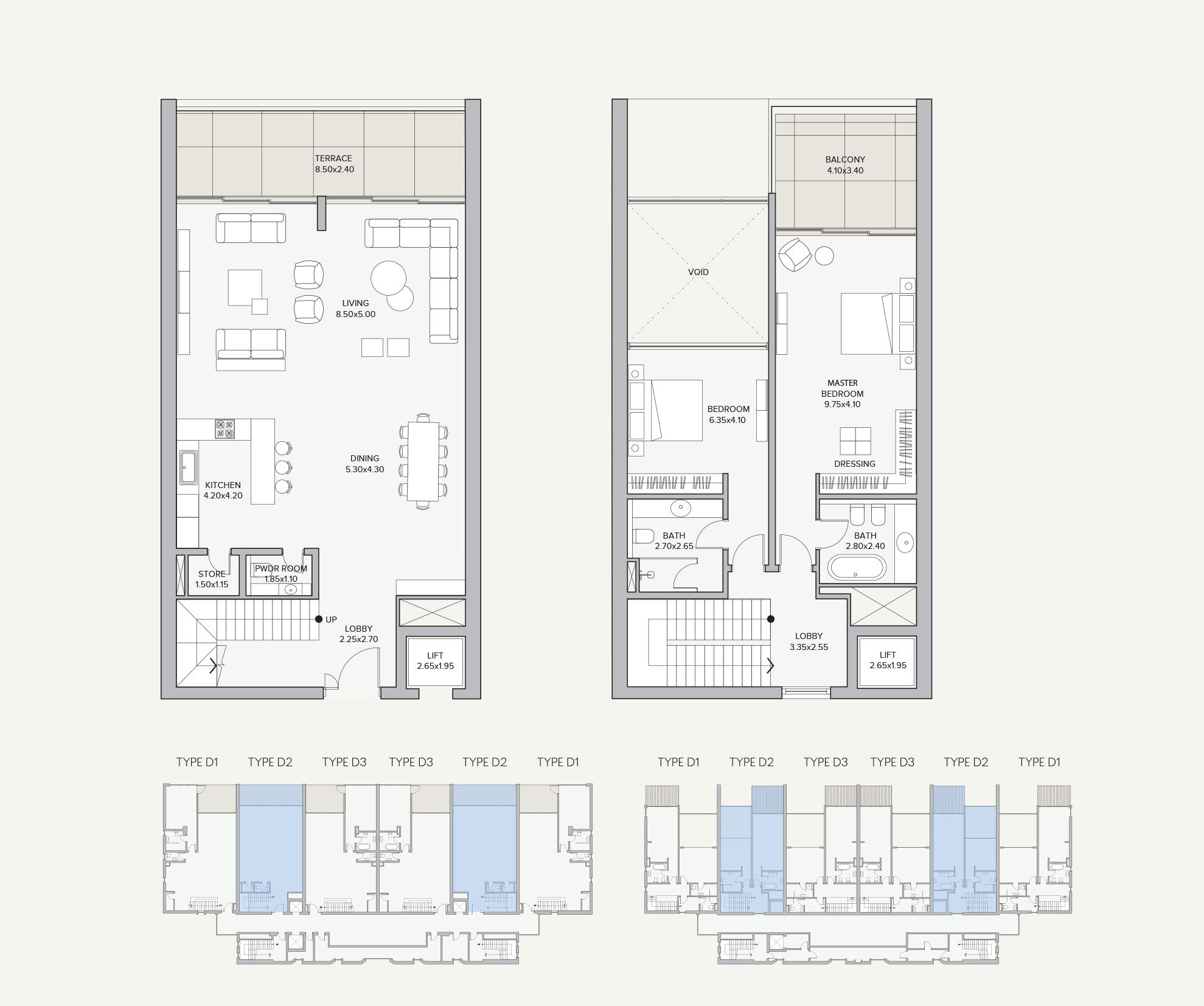 Duplex Type D2 Apartment Block B