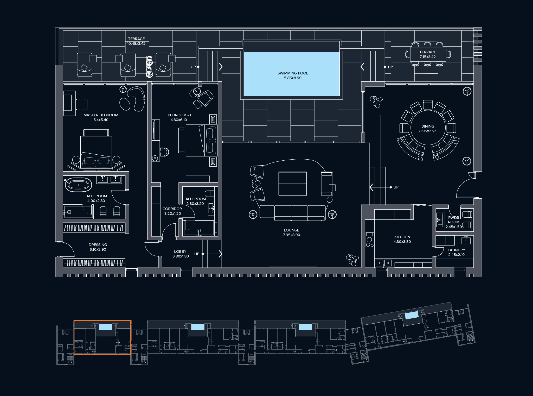Penthouse Type C2 Block C