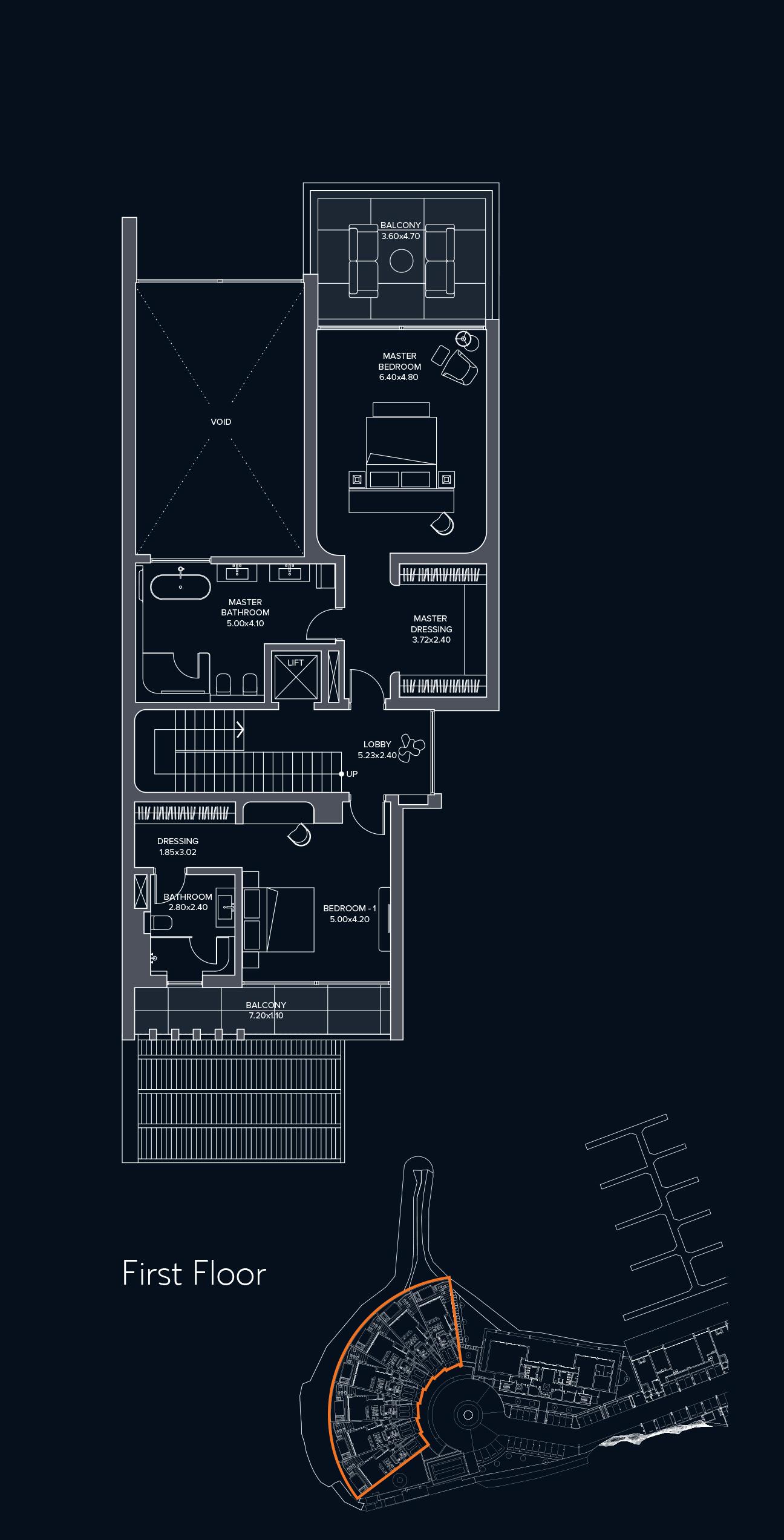 Waterfront Villas First Floor