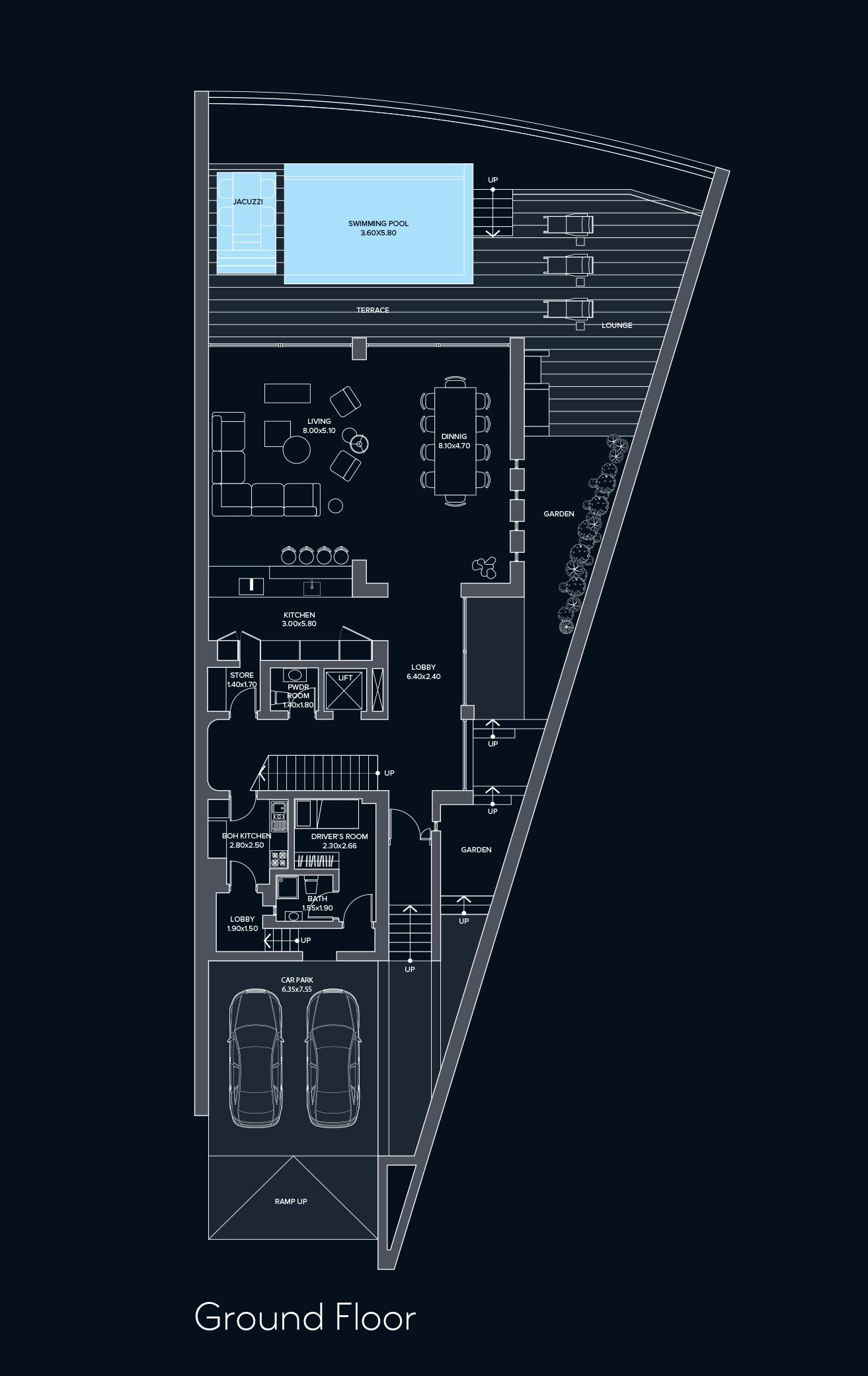 Waterfront Villas Ground Floor